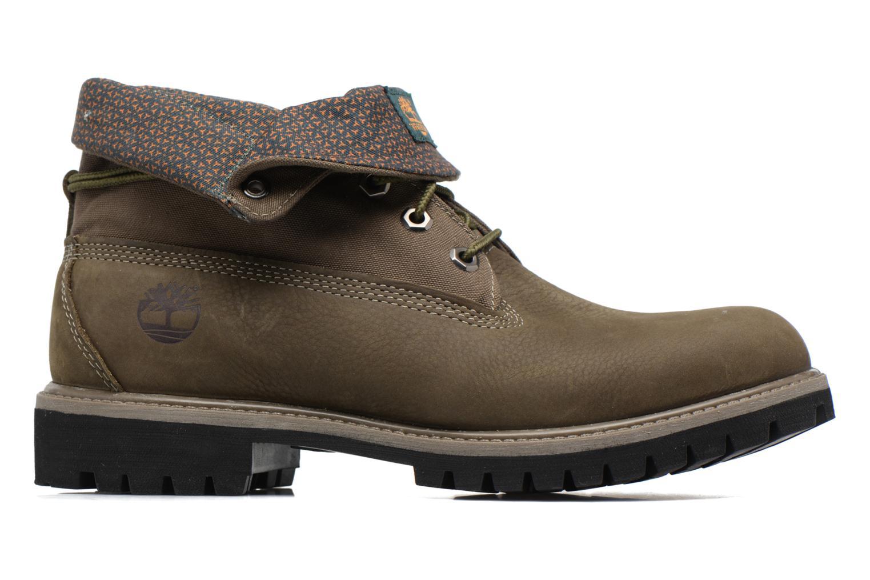 Bottines et boots Timberland Roll Top F/F AF Vert vue derrière