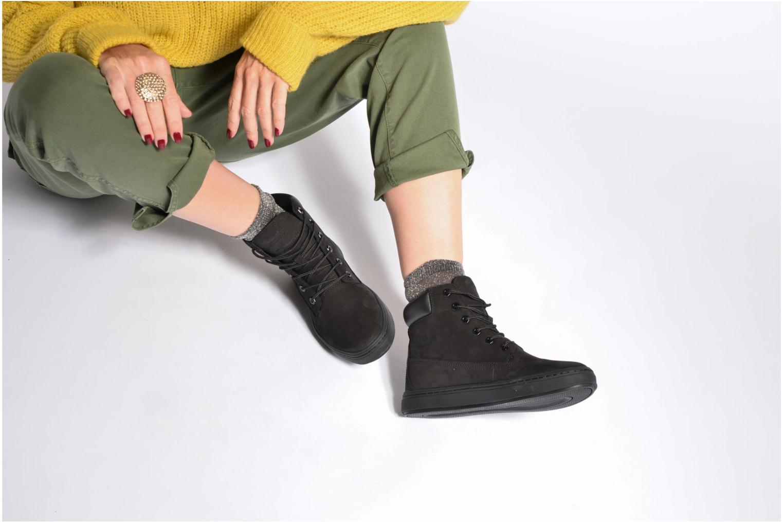 Sneaker Timberland Londyn 6 Inch braun ansicht von unten / tasche getragen