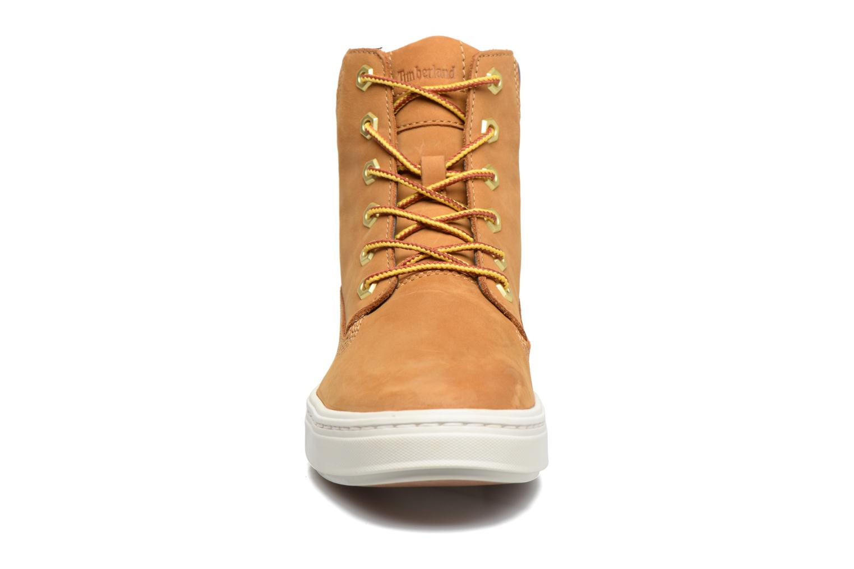 Sneaker Timberland Londyn 6 Inch braun schuhe getragen