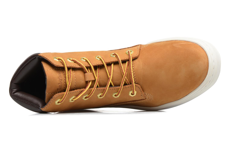 Sneaker Timberland Londyn 6 Inch braun ansicht von links