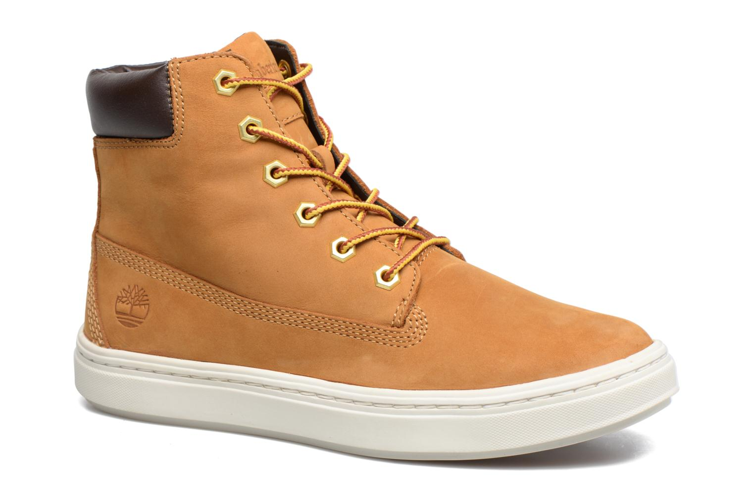 Trainers Timberland Londyn 6 Inch Brown detailed view/ Pair view