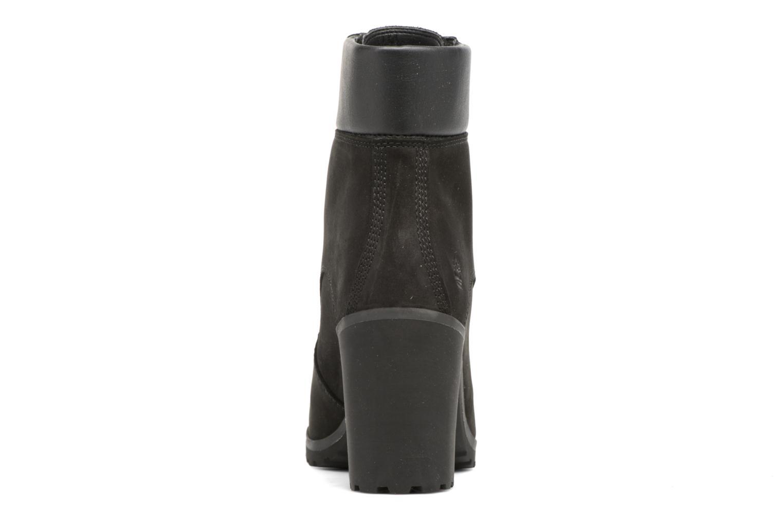 Bottines et boots Timberland Allington 6in Lace Up Noir vue droite