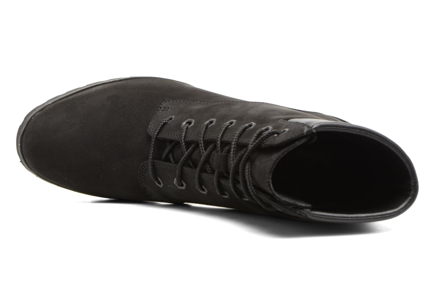Allington 6in Lace Up Black Nubuck