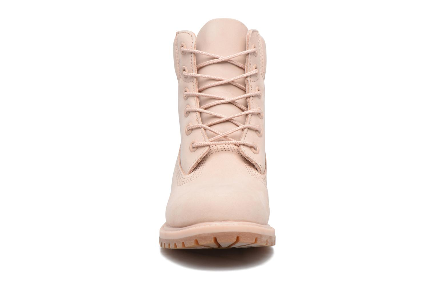 Bottines et boots Timberland 6in Premium Boot - W Rose vue portées chaussures