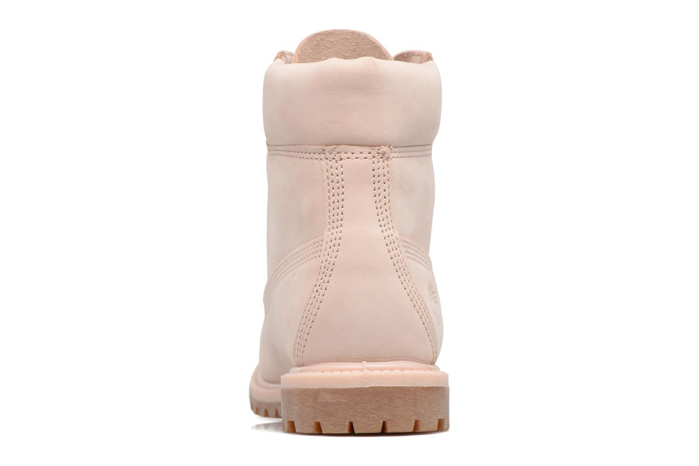 Stiefeletten & Boots Timberland 6in Premium Boot - W rosa ansicht von rechts