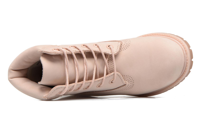 Bottines et boots Timberland 6in Premium Boot - W Rose vue gauche