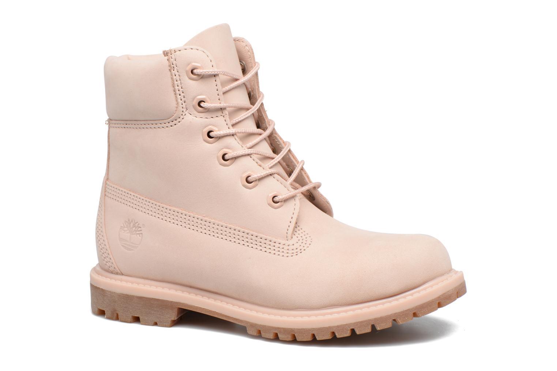 6in Premium Boot - W Cameo Rose Waterbuck Monochromatic
