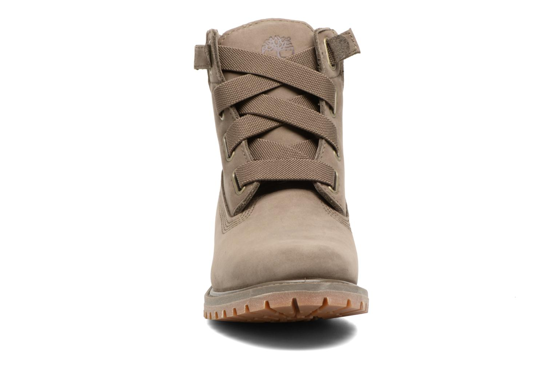 Bottines et boots Timberland 6in Premium Boot - W Vert vue portées chaussures