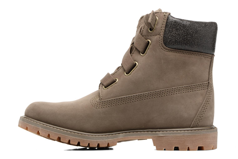 Bottines et boots Timberland 6in Premium Boot - W Vert vue face