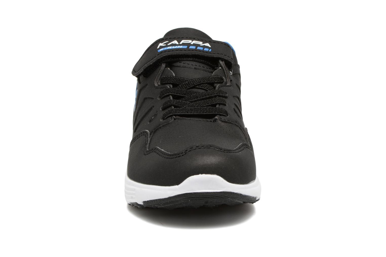 Baskets Kappa Spander EV Noir vue portées chaussures