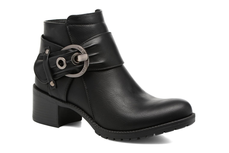 Bottines et boots Les P'tites Bombes Diane Noir vue détail/paire