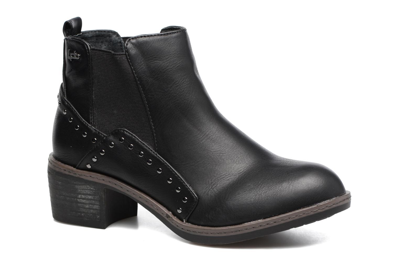 Bottines et boots Les P'tites Bombes Carole Noir vue détail/paire