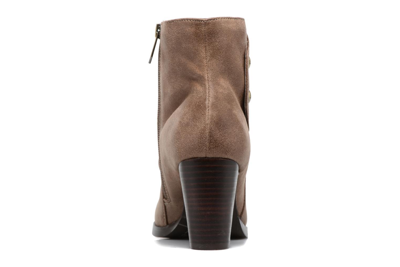 Bottines et boots Les P'tites Bombes Claire Marron vue droite