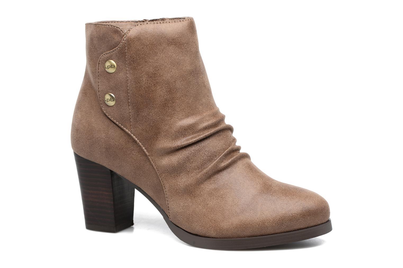 Bottines et boots Les P'tites Bombes Claire Marron vue détail/paire