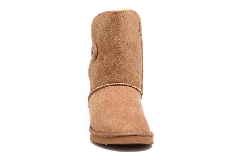 Bottines et boots Les P'tites Bombes Naomi Marron vue portées chaussures