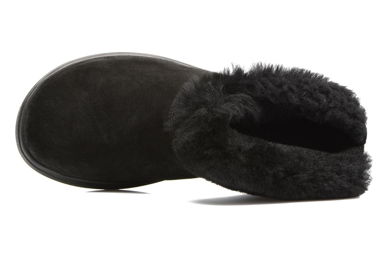 Pantuflas Romika Gomera 02 Negro vista lateral izquierda