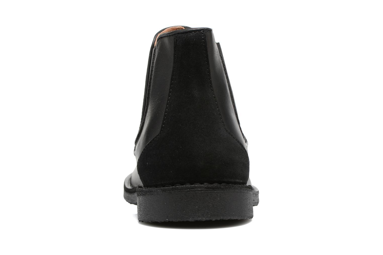 Bottines et boots Selected Homme Royce chelsea leather boot Noir vue droite