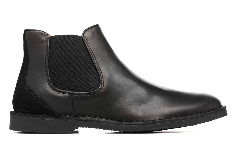 Bottines et boots Selected Homme Royce chelsea leather boot Noir vue derrière