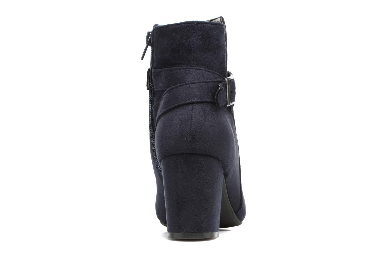 Botines  I Love Shoes VIKE Azul vista lateral derecha