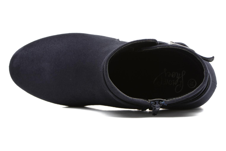 Botines  I Love Shoes VIKE Azul vista lateral izquierda