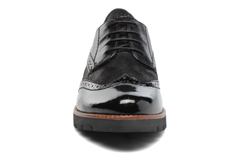 Chaussures à lacets Jana shoes Joséphine Noir vue portées chaussures