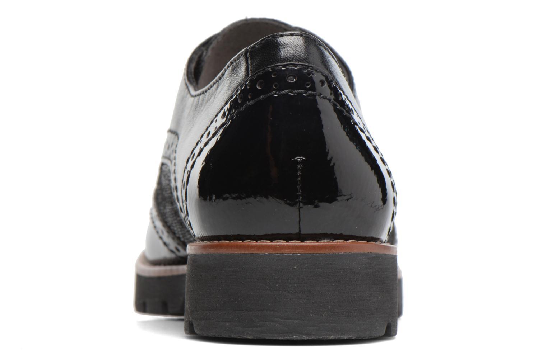 Chaussures à lacets Jana shoes Joséphine Noir vue droite