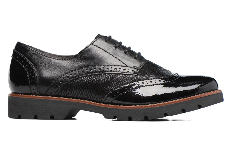 Chaussures à lacets Jana shoes Joséphine Noir vue derrière