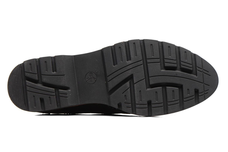 Chaussures à lacets Jana shoes Joséphine Noir vue haut