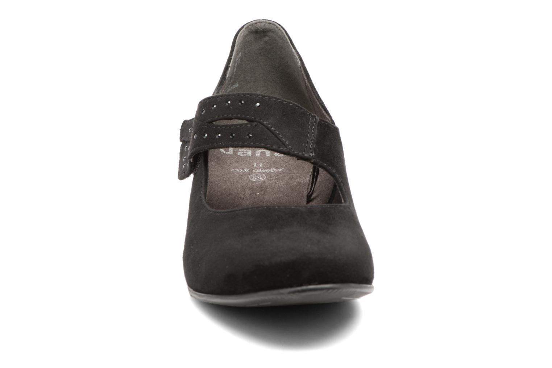 Escarpins Jana shoes Céline Noir vue portées chaussures