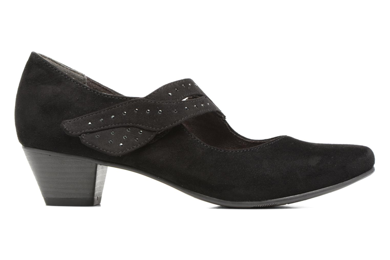 Escarpins Jana shoes Céline Noir vue derrière