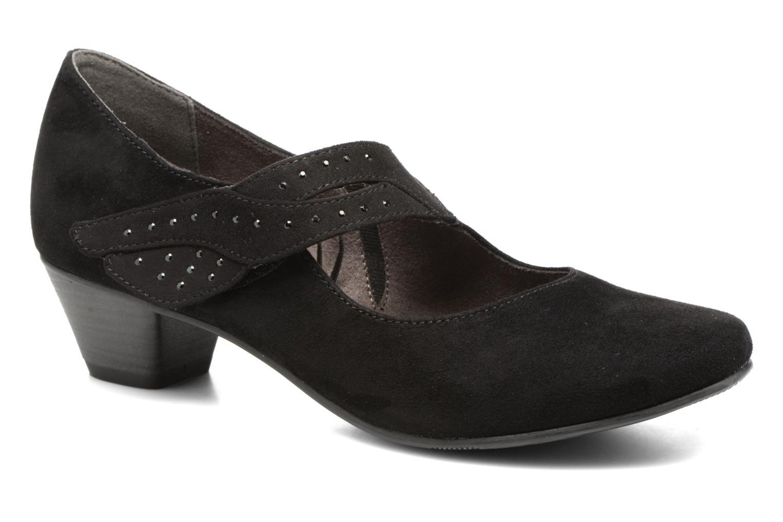 Escarpins Jana shoes Céline Noir vue détail/paire