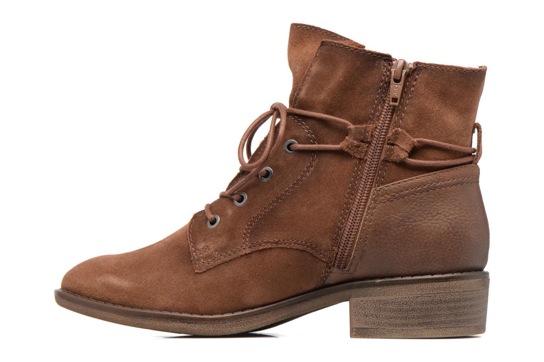 Bottines et boots Jana shoes Marine Marron vue face