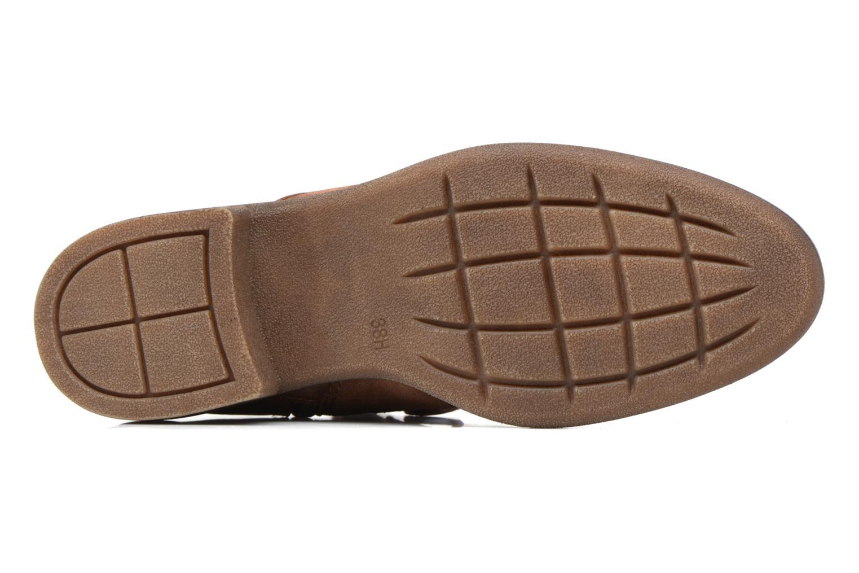 Bottines et boots Jana shoes Marine Marron vue haut