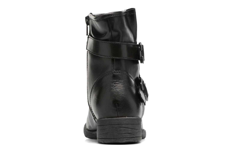 Bottines et boots Jana shoes Nikita Noir vue droite