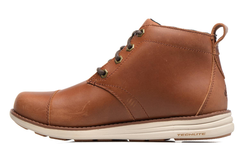 Boots en enkellaarsjes Columbia Irvington Ltr Chukka Wp Bruin voorkant