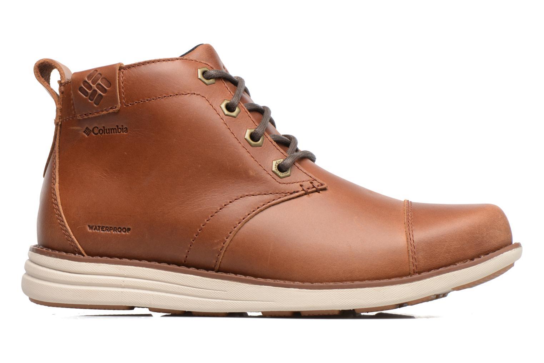 Boots en enkellaarsjes Columbia Irvington Ltr Chukka Wp Bruin achterkant