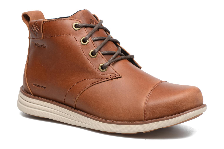Boots en enkellaarsjes Columbia Irvington Ltr Chukka Wp Bruin detail