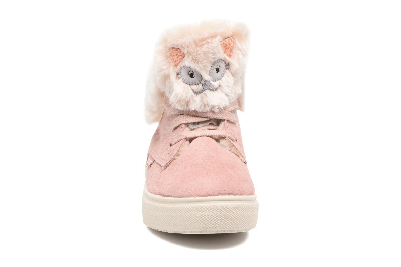 Bottines et boots Victoria Bota Serraje Animales Rose vue portées chaussures