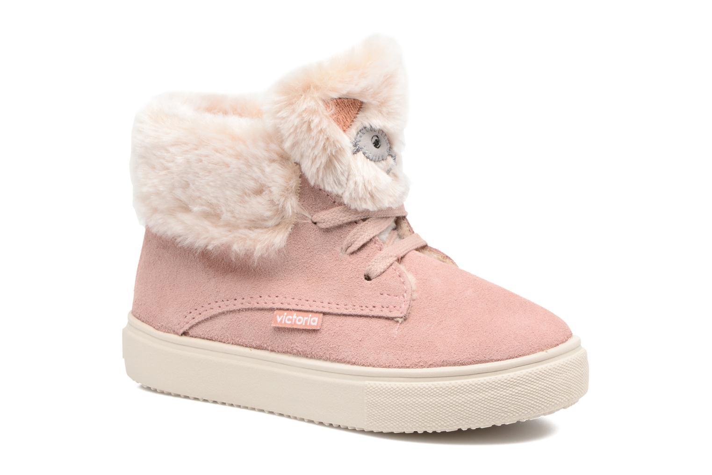 Bottines et boots Victoria Bota Serraje Animales Rose vue détail/paire