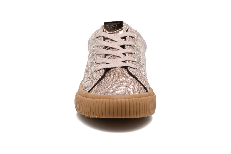 Baskets Victoria Deportivo Lurex K Rose vue portées chaussures
