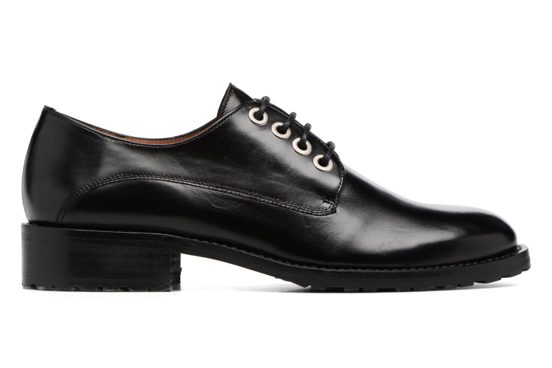 Chaussures à lacets Georgia Rose Toeillet Noir vue derrière