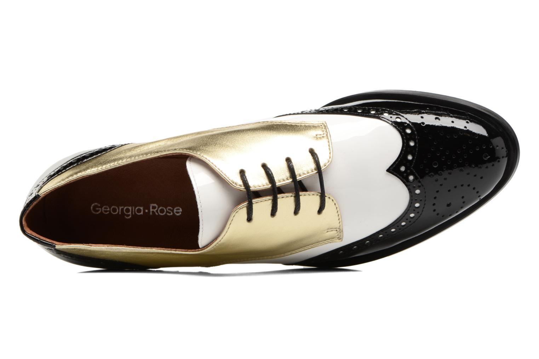 Chaussures à lacets Georgia Rose Tritrou Noir vue gauche