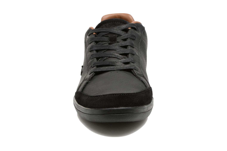 Baskets Lacoste SET-MINIMAL 317 1 Noir vue portées chaussures