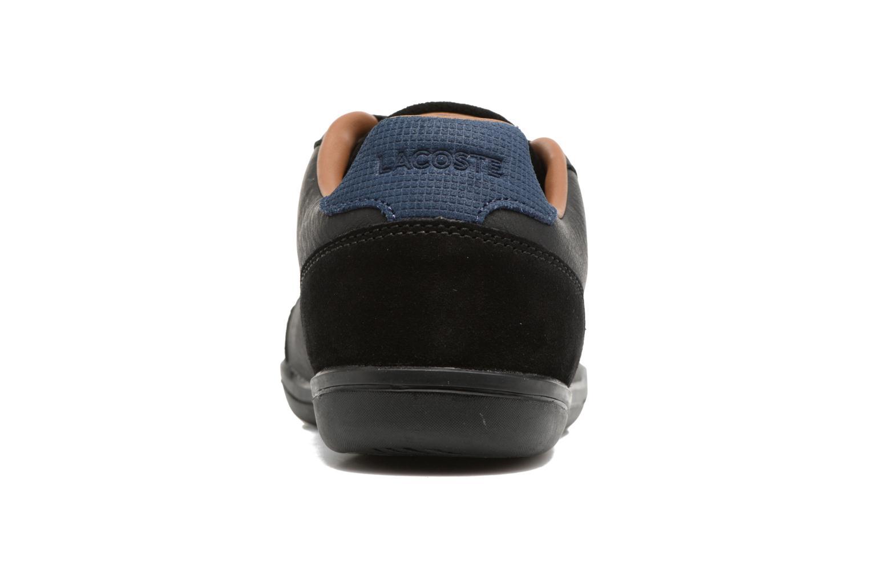 Baskets Lacoste SET-MINIMAL 317 1 Noir vue droite