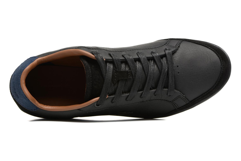 Baskets Lacoste SET-MINIMAL 317 1 Noir vue gauche