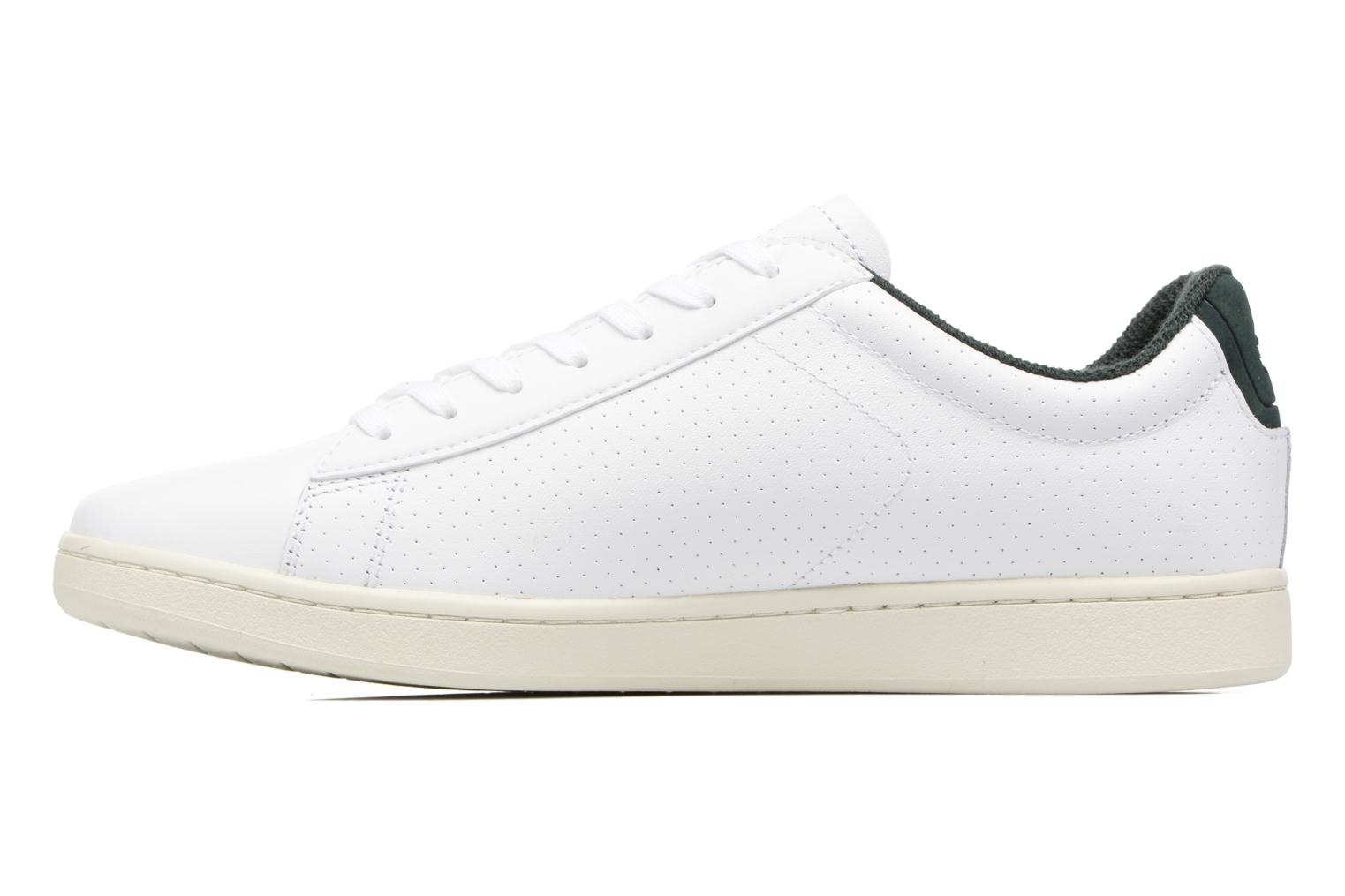 Baskets Lacoste CARNABY EVO 317 2 Blanc vue face