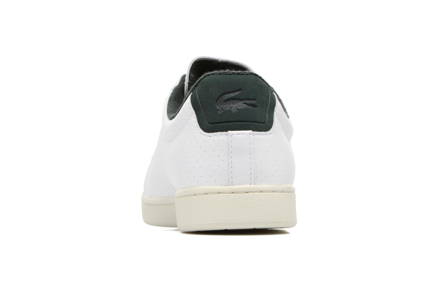 Baskets Lacoste CARNABY EVO 317 2 Blanc vue droite