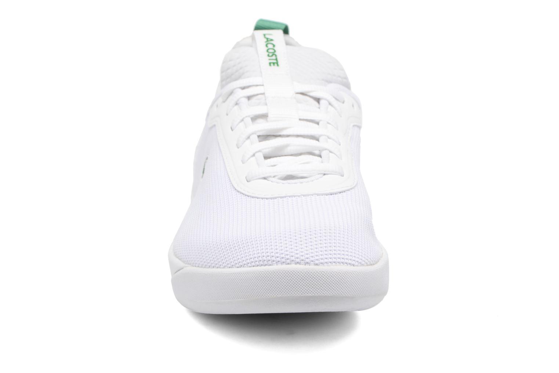 Baskets Lacoste LT SPIRIT 2.0 317 1 Blanc vue portées chaussures