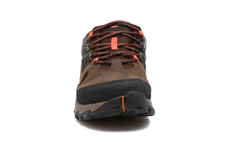Chaussures de sport Merrell All Out Blaze 2 Gtx Marron vue portées chaussures