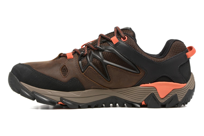 Chaussures de sport Merrell All Out Blaze 2 Gtx Marron vue face